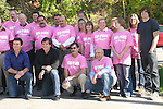 Guiding Light's actors Frank Dicopoulos, Kurt McKinney and Zack Conroy and auto employeeson October 1, 2009 in Pittsburgh, PA area as the actors visit Moon Township Honda after going to the various GO PINK Panera Bread locations. Proceeds from pink ribbon bagel sales will benefit the Young Women's Breast Cancer Awareness Foundation. (Photo by Sue Coflin/Max Photos)