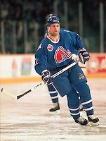 Owen Nolan Quebec Nordiques 1993. Photo F. Scott Grant