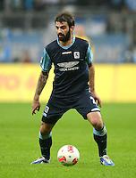 Fussball 2. Bundesliga:  Saison   2012/2013,    10. Spieltag  TSV 1860 Muenchen - FC Erzgebirge Aue  22.10.2012 Grigoris Makos (1860 Muenchen)