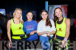 Aisling Howe and Veronika Polakova from Jumping Kerry with Emma Ryan, Laura Ryan Tralee at the Balance expo in the INEC on Sunday