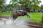 Stamford, Lincolnshire, United Kingdom, 7th September 2019, David Britnell (GB) riding Continuity during the Cross Country Phase on Day 3 of the 2019 Land Rover Burghley Horse Trials, Credit: Jonathan Clarke/JPC Images