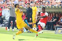 Michael Hector (Eintracht Frankfurt) gegen Jhon Cordoba (1. FSV Mainz 05) - 13.05.2017: 1. FSV Mainz 05 vs. Eintracht Frankfurt, Opel Arena, 33. Spieltag