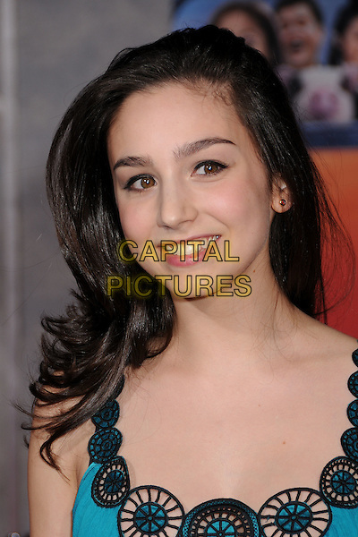"MOLLY EPHRAIM.""College Road Trip"" Los Angeles Premiere at the El Capitan Theatre, Hollywood, California, USA..March 3rd, 2008.headshot portrait black trim circles .CAP/ADM/BP.©Byron Purvis/AdMedia/Capital Pictures."