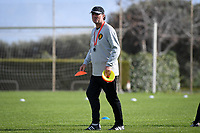 20190226 - LARNACA , CYPRUS :  Belgian assistant coach Kris Van Der Haegen pictured during a Matchday -1 training from The Belgian Red Flames prior to their game against the women team of Slovakia , on Tuesday 26 February 2019 at the Alpha Sports Grounds in Larnaca , Cyprus . This will be the first game in group C for Belgium during the Cyprus Womens Cup 2019 , a prestigious women soccer tournament as a preparation on the European Championship 2021 qualification duels. PHOTO SPORTPIX.BE | DAVID CATRY