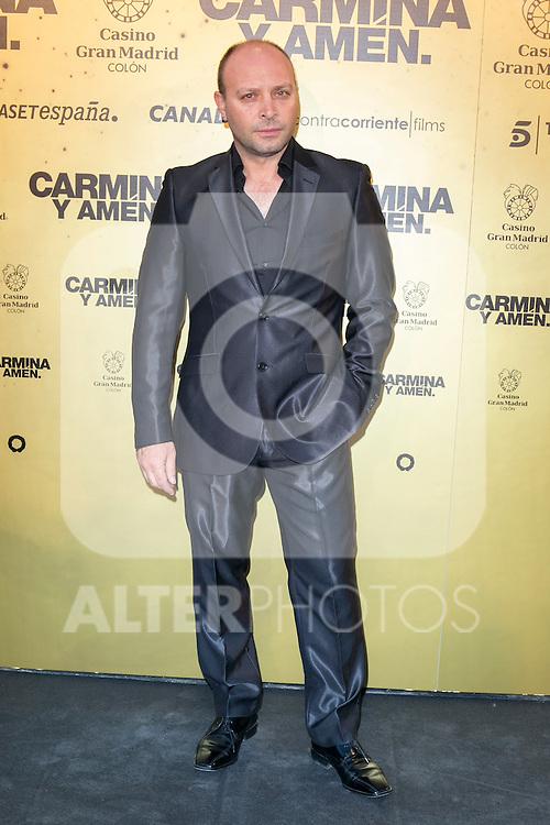 "Spanish actor Vicente Romero attend the Premiere of the movie ""Carmina y Amen"" at the Callao Cinema in Madrid, Spain. April 28, 2014. (ALTERPHOTOS/Carlos Dafonte)"
