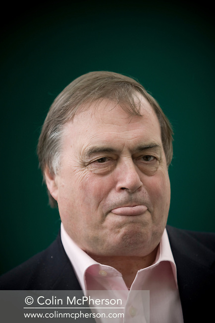 Former British deputy Prime Minster John Prescott MP pictured at the Edinburgh International Book Festival where he talked about his newly-published autobiography entitled Prezza: Pulling No Punches a book about his life and politics. The three-week event is the world's biggest literary festival and is held during the annual Edinburgh Festival. 2008 was the Book Festival's 25th anniversary and featured talks and presentations by more than 500 authors from around the world.