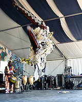 Ivoire Spectacle playing at Jazz Fest 2011 in New Orleans, LA on day 5.