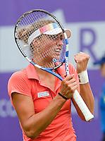 16-6-09, Rosmalen, Tennis, Ordina Open 2009, Yanina Wickmayer (Bel) plaatst zich voor de tweede ronde