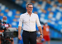 19th July 2020; Stadio San Paolo, Naples, Campania, Italy; Serie A Football, Napoli versus Udinese; Luca Gotti coach of Udinese Calcio