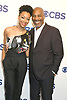 Sonequa Martin-Green of &quot;Star Trek:  Discovery&quot; and &quot;God  Friended Me&quot;, Joe Morton attends the CBS Upfront 2018-2019 at The Plaza Hotel in New York, New York, USA on May 16, 2018.<br /> <br /> photo by Robin Platzer/Twin Images<br />  <br /> phone number 212-935-0770