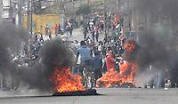 PASTO -COLOMBIA- 28-08-2013.Disturbios en la capital nari–ense durante el paro agrario    /  . Riots in the capital during the agrarian strike nari–ense.Photo: VizzorImage /  Stringer