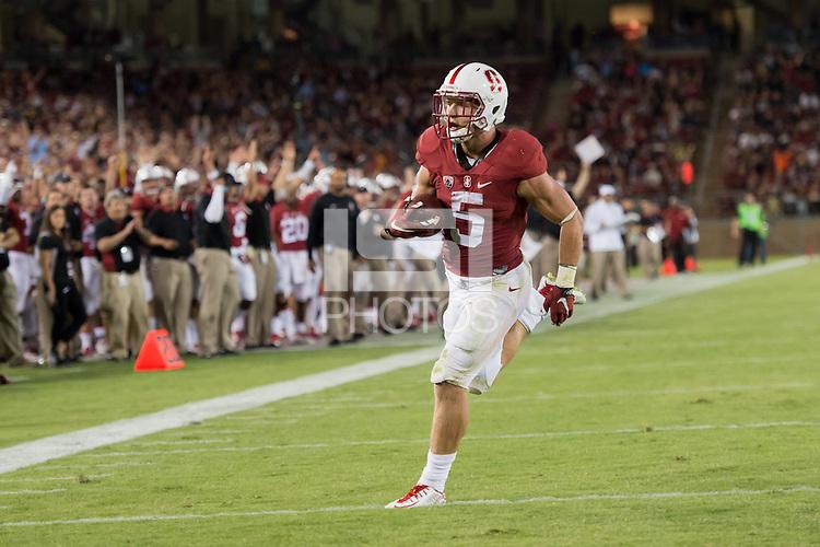 Stanford, CA, September 12, 2015<br /> Stanford Football vs. University of Central Florida. Stanford won 31-7.