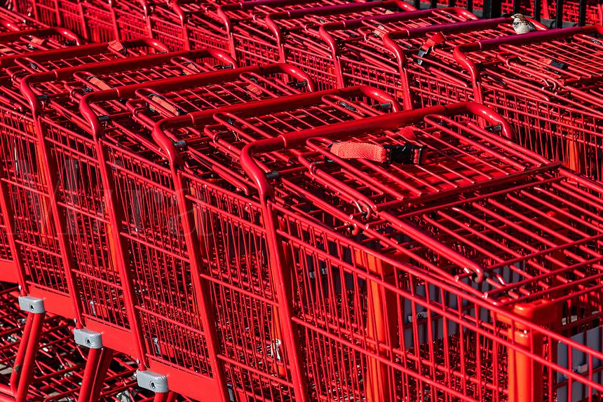 Shopping cart detail.