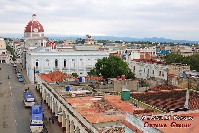 View From Palacio Ferrer Of Plaza De Armas