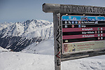 Top of B3 chairlift, Ischgl Ski Area, Austria