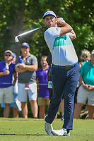 Jon Rahm (ESP) watches his tee shot on 3 during Round 1 of the Zurich Classic of New Orl, TPC Louisiana, Avondale, Louisiana, USA. 4/26/2018.<br /> Picture: Golffile | Ken Murray<br /> <br /> <br /> All photo usage must carry mandatory copyright credit (&copy; Golffile | Ken Murray)