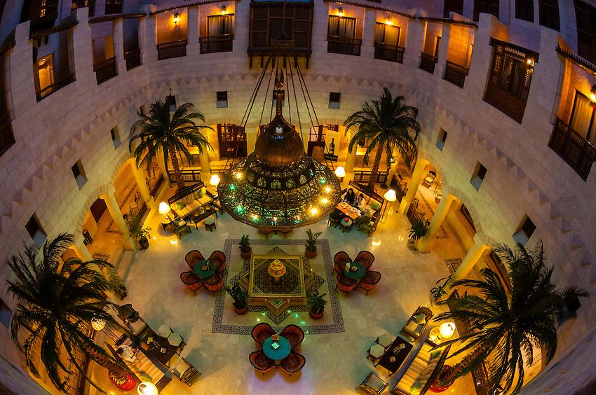 Interior view, Movenpick Resort Petra, Petra (Wadi Musa), Jordan.
