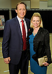Jenny and Lance Robertson at the VIP Reception for the Celebration of Reading event at the Hobby Center Thursday  April 21,2016(Dave Rossman Photo)