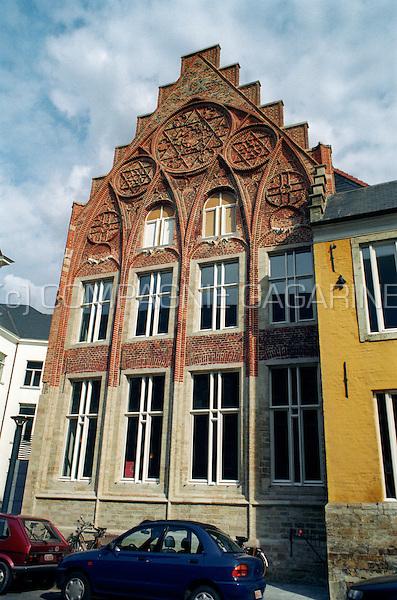 The 15th Century Huis van 't Sestich in Leuven (Belgium, 2002)