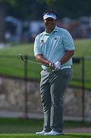 Kiradech Aphibarnrat (THA) chips on to 5 during round 2 of the 2019 Charles Schwab Challenge, Colonial Country Club, Ft. Worth, Texas,  USA. 5/24/2019.<br /> Picture: Golffile   Ken Murray<br /> <br /> All photo usage must carry mandatory copyright credit (© Golffile   Ken Murray)