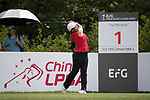 Golfer Jessica Lydia of Indonesia during the 2017 Hong Kong Ladies Open on June 9, 2017 in Hong Kong, China. Photo by Chris Wong / Power Sport Images