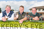Bob Sugrue from Tralee, Danny Brosnan from Tralee and Mike Sugrue from Tralee  at the Kerry International Horse Racing at Ballybeggan Race Track on Sunday dedicated to the memory of John Browne