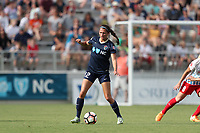 Cary, North Carolina  - Sunday May 21, 2017: Ashley Hatch during a regular season National Women's Soccer League (NWSL) match between the North Carolina Courage and the Chicago Red Stars at Sahlen's Stadium at WakeMed Soccer Park. Chicago won the game 3-1.