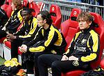 Nederland, Amsterdam, 2 mei 2012.Eredivisie .Seizoen 2011-2012.Ajax-VVV Venlo .Bobby Cullen van VVV Venlo zit op de reservebank