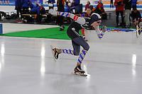 SCHAATSEN: HEERENVEEN: 03-02-2017, KPN NK Junioren, Junioren C Dames 500m, Myrthe de Boer, ©foto Martin de Jong