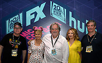 FOX FAN FAIR AT SAN DIEGO COMIC-CON© 2019: L-R: THE SIMPSONS Supervising Animation Director Mike Anderson, Cast Member Yeardley Smith, and Executive Producers Matt Groening, Stephanie Gillis and Al Jean during the THE SIMPSONS booth signing on Saturday, July 20 at the FOX FAN FAIR AT SAN DIEGO COMIC-CON© 2019. CR: Alan Hess/FOX © 2019 FOX MEDIA LLC