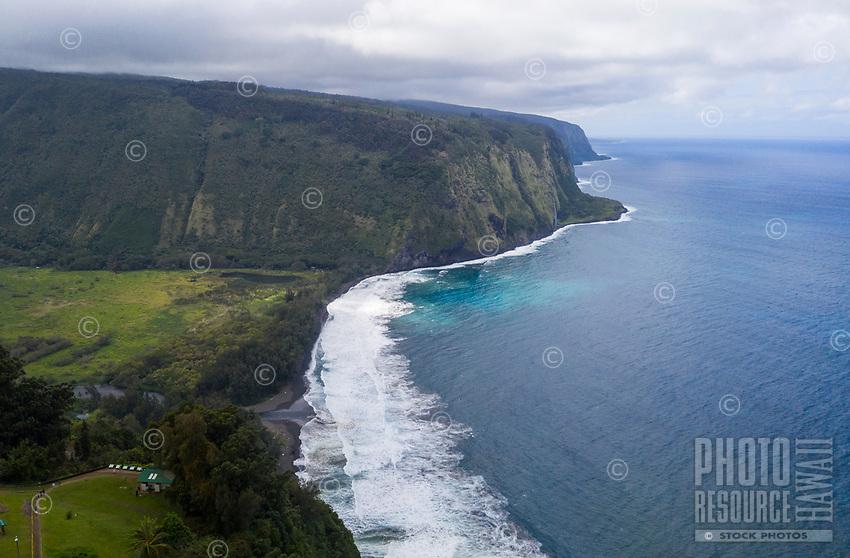 Sacred Waipi'o Valley along the Hamakua coast of the Big Island of Hawai'i.