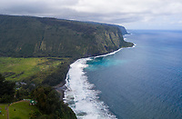 Sacred Waipi'o Valley along the Hamakua coast of the Big Island of Hawai'i.