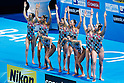 Synchronized swimming: 15th FINA Swimming World Championships