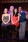 Tiffan Borelli, Martin Charnin, Jennifer Apple and Lee Roy Reams perform a preview of 'Something Funny's Going On!'  at 54 Below on October 23, 2013 in New York City.