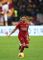 Football, Serie A: AS Roma - Brescia FC, Olympic stadium, Rome, November 24, 2019. <br /> Roma's Justin Kluivert in action during the Italian Serie A football match between Roma and Brescia at Olympic stadium in Rome, on November 24, 2019. <br /> UPDATE IMAGES PRESS/Isabella Bonotto