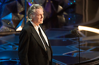 Christopher Walken presents the Oscar&reg; for achievement in music written for motion pictures (Original score) during the live ABC Telecast of The 90th Oscars&reg; at the Dolby&reg; Theatre in Hollywood, CA on Sunday, March 4, 2018.<br /> *Editorial Use Only*<br /> CAP/PLF/AMPAS<br /> Supplied by Capital Pictures