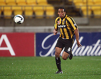 Phoenix striker Paul Ifill during the A-League football match between Wellington Phoenix and Perth Glory at Westpac Stadium, Wellington, New Zealand on Sunday, 16 August 2009. Photo: Dave Lintott / lintottphoto.co.nz