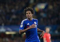 Loic Remy of Chelsea during the UEFA Champions League match between Chelsea and Maccabi Tel Aviv at Stamford Bridge, London, England on 16 September 2015. Photo by Andy Rowland.