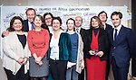 "BRUSSELS - BELGIUM - 24 November 2016 -- European Training Foundation (ETF) Conference on ""GETTING ORGANISED FOR BETTER QUALIFICATIONS"" - Panel discussion: Making QFs work globally. -- The ETF European Qualifications Framework team. -- PHOTO: Juha ROININEN / EUP-IMAGES"