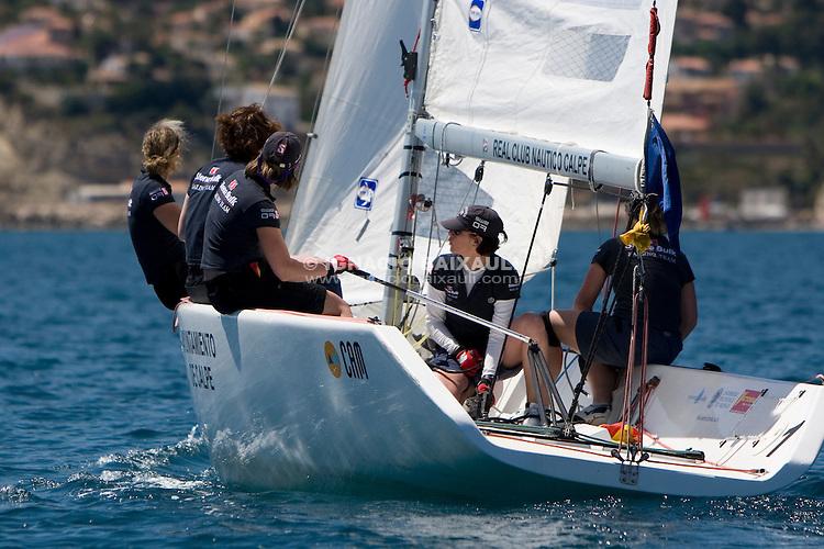 Linda Rham   . Sweden  ...9 Raning ISAF - X Criterium Internacional Femenino de Match Race - 22-26 April 2008 - Real Club Náutico de Calpe, Calpe, Alicante, Spain - Match Race - Tom28