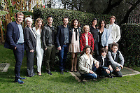 Il cast<br /> Roma 06-03-2017. Serie Tv Rai 'Sorelle' Photocall<br /> Foto Samantha Zucchi Insidefoto