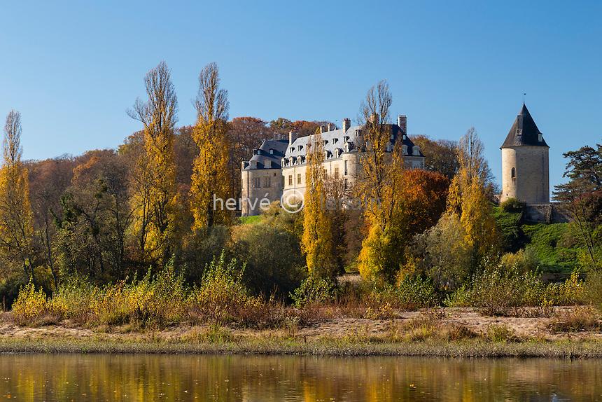 France, Cher (18), Apremont-sur-Allier, labellisé Les Plus Beaux Villages de France,