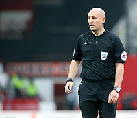Referee Andy Davies<br /> <br /> Photographer Alex Dodd/CameraSport<br /> <br /> The EFL Sky Bet Championship - Brentford v Bolton Wanderers - Saturday 13th January 2018 - Griffin Park - Brentford<br /> <br /> World Copyright &copy; 2018 CameraSport. All rights reserved. 43 Linden Ave. Countesthorpe. Leicester. England. LE8 5PG - Tel: +44 (0) 116 277 4147 - admin@camerasport.com - www.camerasport.com