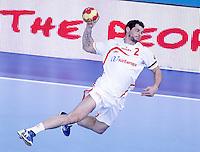 Spain's Alberto Entrerrios during 23rd Men's Handball World Championship preliminary round match.January 14,2013. (ALTERPHOTOS/Acero) /NortePhoto