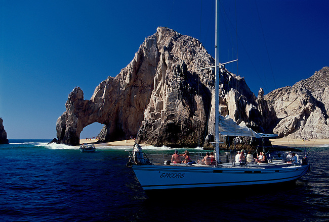 El Arco, rock formation, Cabo San Lucas, Baja California Sur State, Mexico, North America