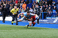 2019 01 19 Cardiff Blues V Lyon, Cardiff Arms Park, Cardiff, Wales, UK
