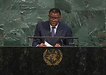 72 General Debate – 20 September <br /> <br /> His Excellency Hage Geingob, President of the Republic of Namibia