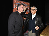 Frank Dicopoulos and Kreskin attend &quot;The Amazing Kreskin&quot; Off Broadwy show on April 11, 2018 at the Lion Theatre in New York City. <br /> <br /> photo by Robin Platzer/Twin Images<br />  <br /> phone number 212-935-0770