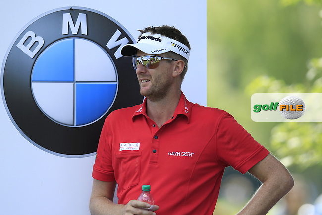David Lynn (ENG) waits to tee off the 8th tee during Friday's Round 2 of the 2013 BMW International Open held on the Eichenried Golf Club, Munich, Germany. 21st June 2013<br /> (Picture: Eoin Clarke www.golffile.ie)