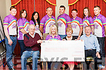 The Remembering Zo&euml; Charity Fundraiser Cheque Presentations took place on Saturday, September 24th. last in Leen's Hotel, Abbeyfeale. The overall funds raised were &euro;18,132.00 with a cheque for &euro;13,000 going to Abbeyfeale Town Park Playground, Make a Wish Foundation received &euro;3,132.00 and the Community Games received &euro;1,000.  Earlier in the year a cheque for &euro;1,000 was presented to the Hope Foundation and donated to a Children&rsquo;s Hospital in India when the TY students from Scoil Ide agus Iosef travelled out to work with poor children.  The funds donated to Abbeyfeale Town Park are funding the following works 1. Refurbishment of existing Playgrounds consisting of the repainting of existing furniture and fencing.  2. Installation of a 30 metre Zip Line.  3. Installation of an Autistic Play Area.  The Remembering Zo&euml; committee would like to offer a sincere thank you to all who participated in this year&rsquo;s cycle and the relay run to Dublin.  Thank you too, to the children and adults who supported the family fun day, the TY students in Colaiste Ide agus Iosef for their donation of &euro;1000 and to Micks Local in Abbeyfeale and the Shamrock Bar in NCW who held fundraising darts competitions for us.  A special word of thanks to the sponsors and volunteers and to everyone from the community, clubs and organizations who support our efforts to raise funds for children&rsquo;s charities in the name of Abbeyfeale&rsquo;s  Zo&euml;  Scannell whose untimely death was the catalyst for the formation of the Remembering Zo&euml; Charity two years ago.<br /> <br /> <br /> Zo&euml; 2<br /> Remembering Zo&euml; committee present a cheque of &euro;13,000 for the refurbishment of the childrens playground in the town park Abbeyfeale.<br /> Seated: Alisha Scannell with Town Park Committee members John O' Sullivan, Celine McNally &amp; James Harnett<br /> Back: Michael Lane, Noreen Cullinane, Trish Roche, John Collins, Shane O' Connor, Tom O' Shaughnessy, , Anna O' Sullivan, Eddie Murphy.